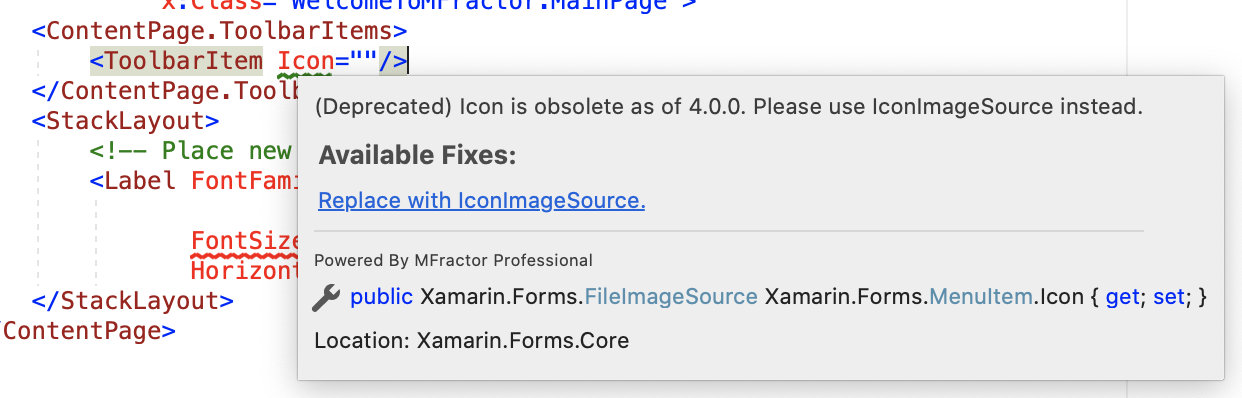 The Icon to IconImageSource refactoring